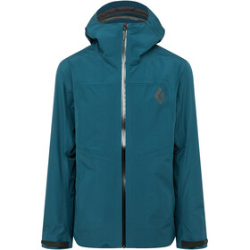 Black Diamond Liquid Point Shell Jacket Herre azurite
